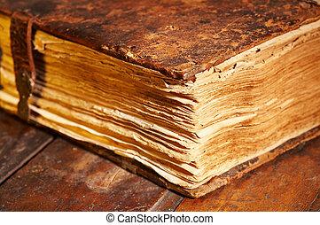 libro, antiguo