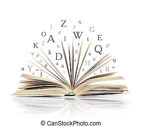 libro, aperto