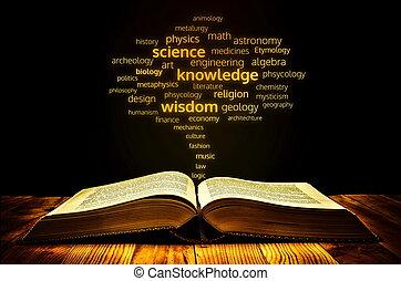 libro, ciencia