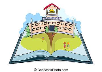 libro de la escuela