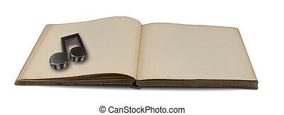libro de música