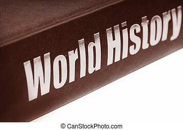 libro, de, mundo, historia