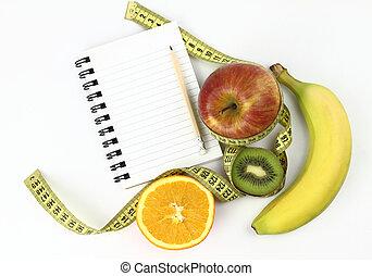 libro, dieta