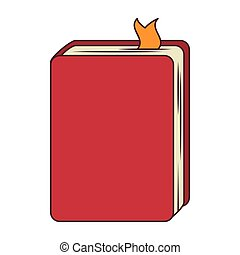 libro, educazione, oggetto