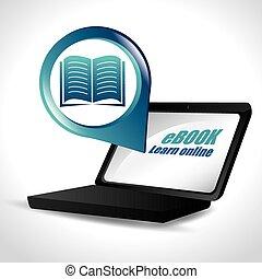 libro electrónico, diseño
