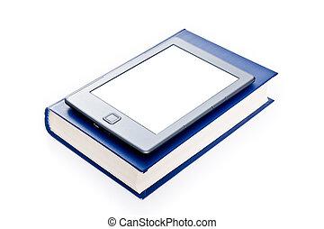 libro, electrónico