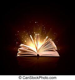 libro, magia