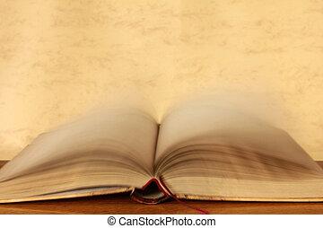 libro, páginas