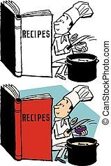libro, ricetta