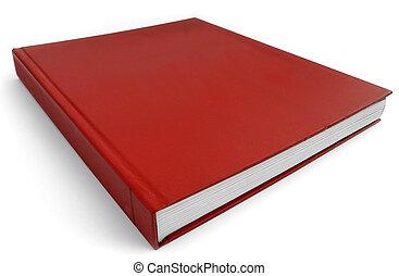 libro rojo, plano de fondo, republicano, política, concepto