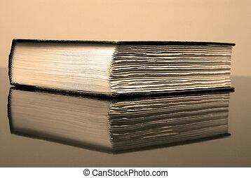 libro, scrivania