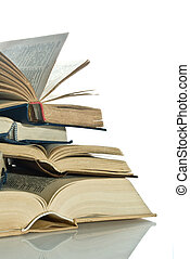 libro, su, il, sfondo bianco