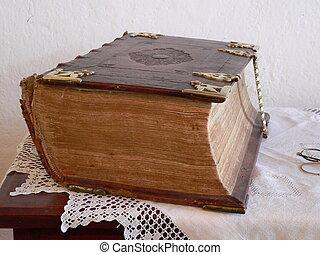 libro, vecchio
