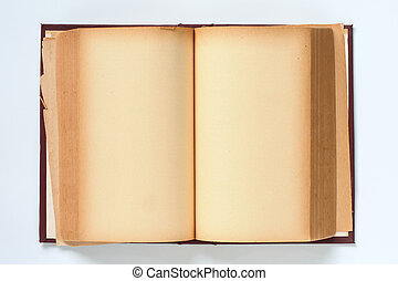 libro, vecchio, fondo