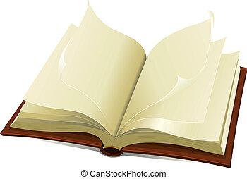 libro, vecchio, santo