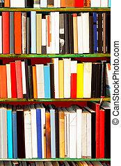 libros, arte