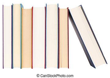 libros, consecutivo