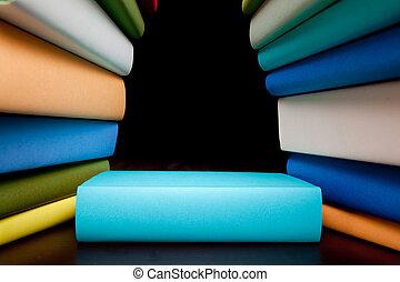 libros, educación, estudio, libros
