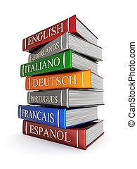 libros, encuadernaciones, y, literatura