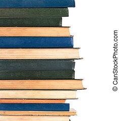 libros, fila