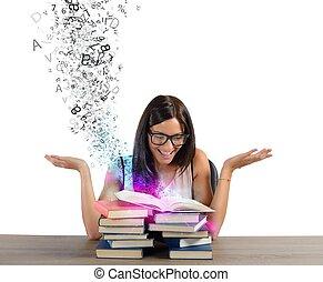 libros, inspiración