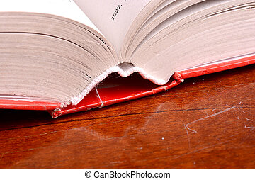 libros viejos, cicatrizarse