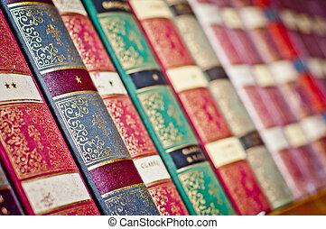libros viejos, plano de fondo