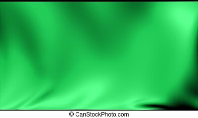 Libya Flag 1977-2011. Background Seamless Looping Animation.