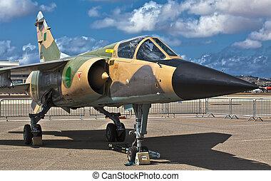 Libyan Air Force Mirage F1 Reg 502 - LUQA, MALTA - 25 SEP -...