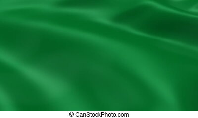 Libyan flag in the wind