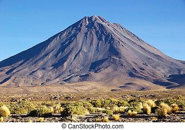 Licancabur in the Atacama desert, Chile
