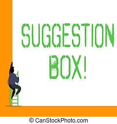 licença, aproximadamente, box., palavra, negócio, texto, mostrando, comments, escrita, something., conceito, lata, sugestão, recipiente