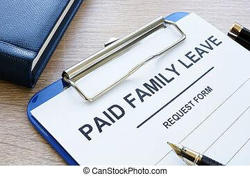 licença, família, forma, pago, pad., nota, área de transferência