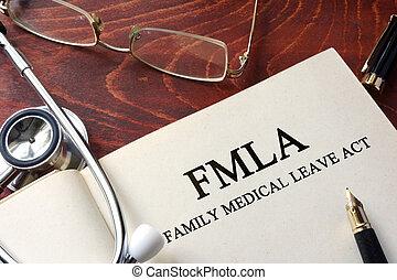 licença, médico, fmla, família, ato