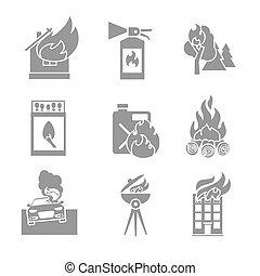 licenziare protezione, icone