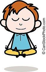lichaam, jongen, school, karakter, excercise, -,...