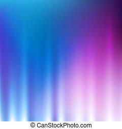 licht, abstract, achtergrond, golven