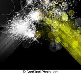 licht, abstract, kleurrijke, achtergrond