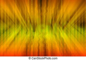 licht, abstract, magisch, achtergrond