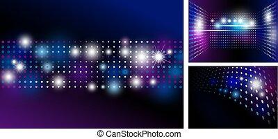 licht, abstract, vlek, disco, ontwerp, achtergrond