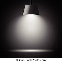 licht, abstrakt, fleck, hintergrund