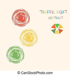 licht, abstrakt, verkehr, bunte, hintergrund.