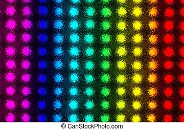 licht, ausstrahlen, dioden