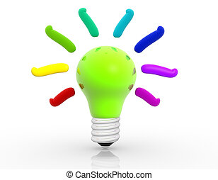 licht, -, bulb.