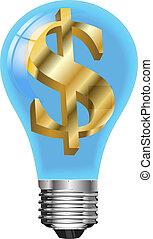 licht, dollar