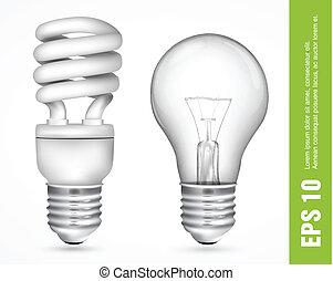 licht, energie, besparing, bloembollen