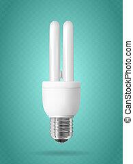 licht, energie, bulb., einsparung