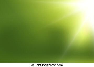 Licht, grün, hintergrund, nett