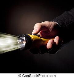 licht, hand