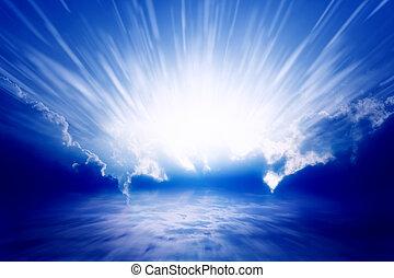 licht, hemel
